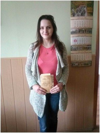 Победитель марта: Атрошенкова Елена (ВМ-16 маг).