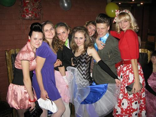 "Вечеринка в стиле  ""Стиляги "" Уикенд."